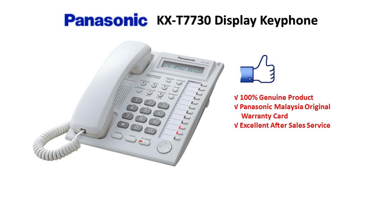 Panasonic KX-T7730X Display Keyphone for Keyphone System
