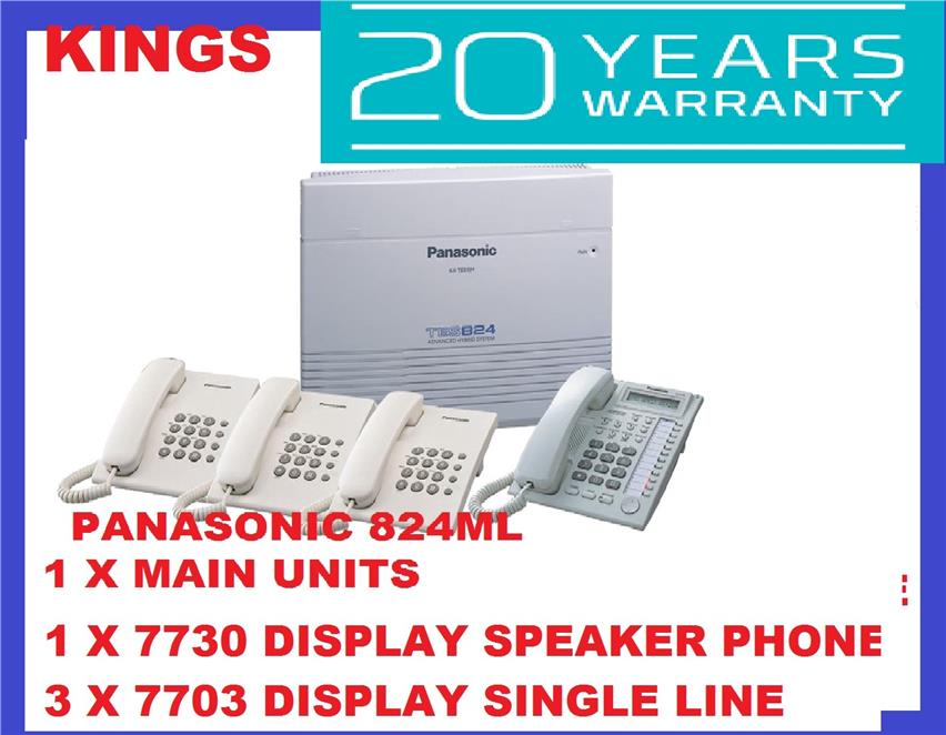 PANASONIC KX-TES 824ML KEYPHONE SYSTEM PABX ( HEAVYDUTY ) ORIGINAL