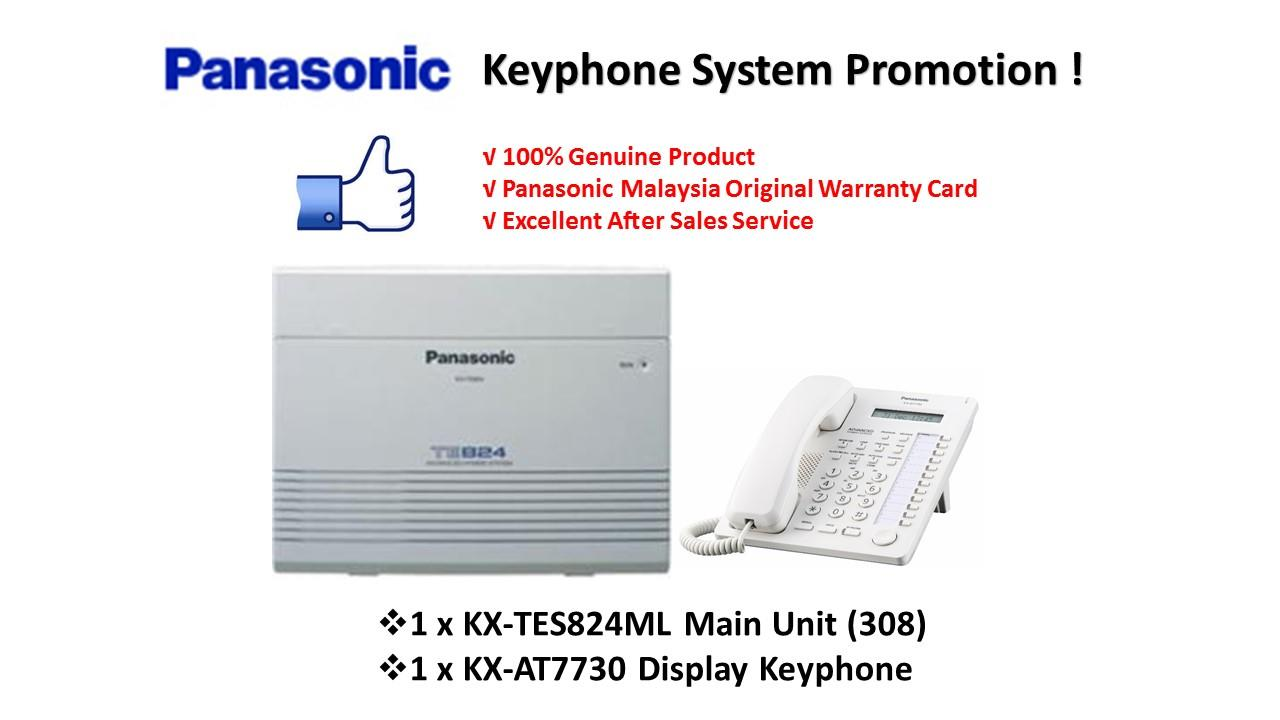 Panasonic KX-TES824ML Keyphone System PBX PABX (Pkg 1)