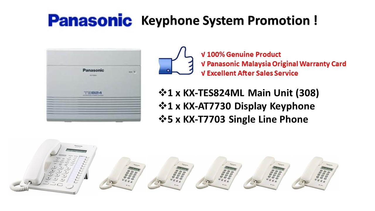 Panasonic KX-TES824ML Keyphone System PBX PABX (Pkg 4)