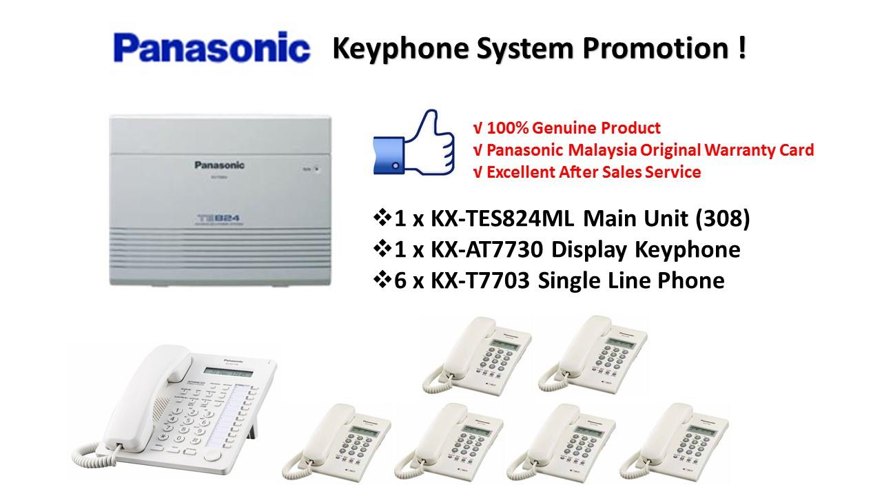 Panasonic KX-TES824ML Keyphone System PBX PABX (Pkg 5)
