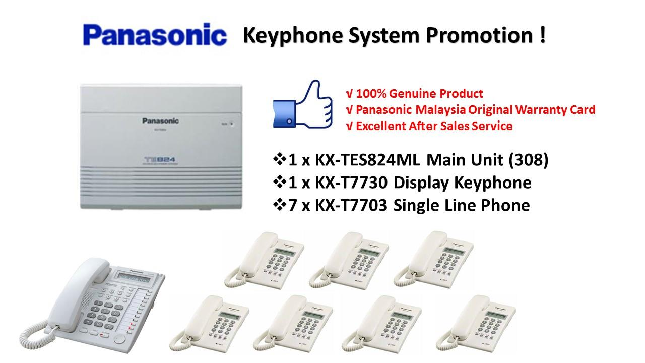 Panasonic KX-TES824ML Keyphone System PBX PABX (Pkg 6)