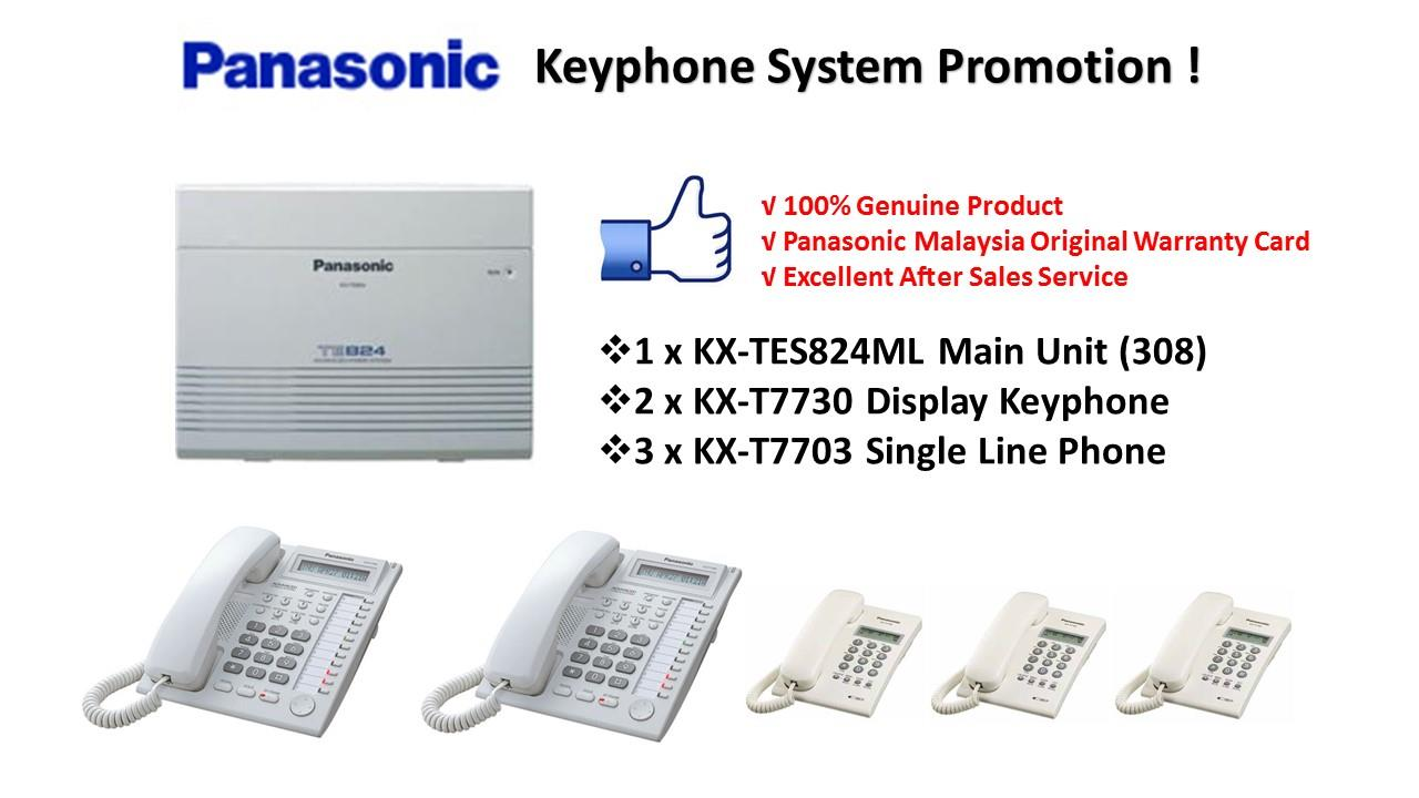 Panasonic KX-TES824ML Keyphone System PBX PABX (Pkg 7)