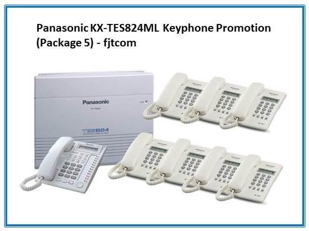 Panasonic KX-TES824ML Keyphone System Promotion (Package 5)