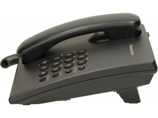 PANASONIC KX-TS500 Single Line Phone (Black)