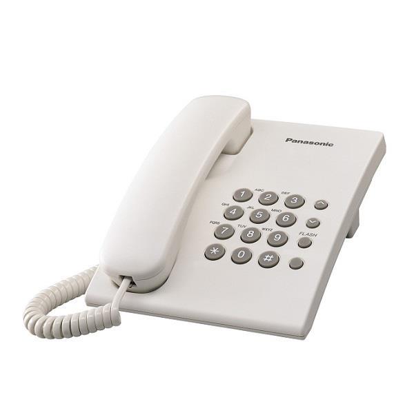 PANASONIC KX-TS500ML SINGLE LINE PHONE WHITE