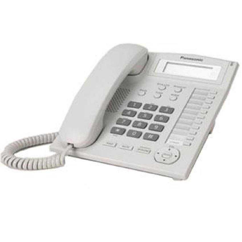 Panasonic KX-TS880ML Single Line Phone(WHITE)