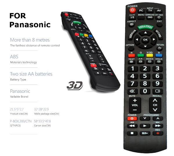 panasonic lcd led tv remote contro end 2122019 115 pm