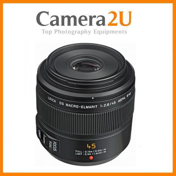 NEW Panasonic Lumix 45mm f/2.8 Leica DG OIS Lens