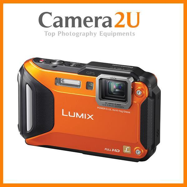 New Panasonic Lumix DMC-FT6 (Orange) +16GB + Case (M'sia)