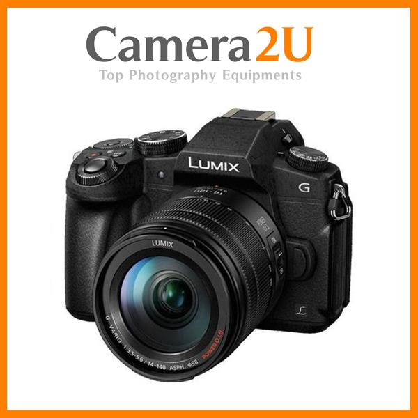 NEW Panasonic Lumix DMC-G85 14-140mm Lens + 16GB + Bag (Import)