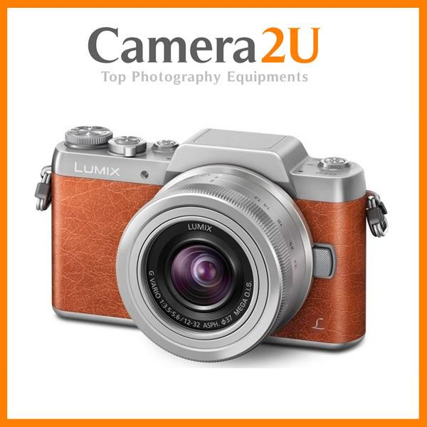 NEW Panasonic Lumix DMC-GF8 (Orange) with 12-32mm + 16GB + Case