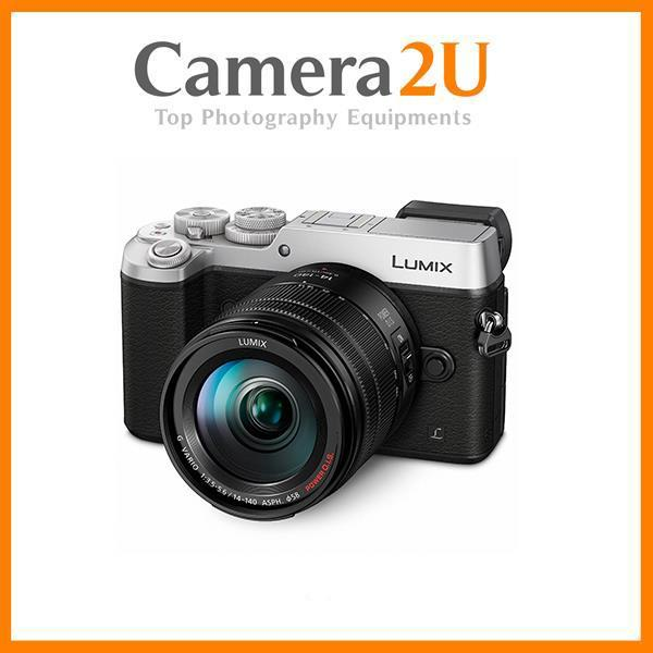 New Panasonic Lumix DMC-GX8 (Silver) + 14-140mm Lens + 16GB + Bag