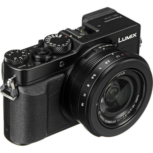 New Panasonic LUMIX DMC-LX100 Digital Camera (Black) + 16GB + Case