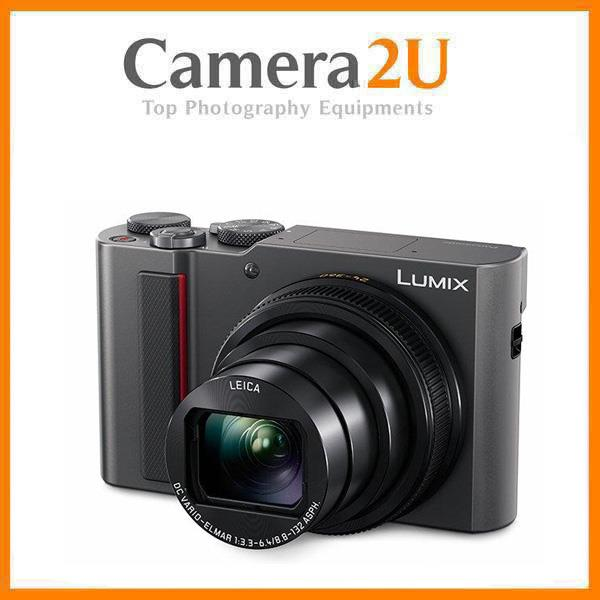 Panasonic Lumix DMC-TZ220 15X Optical Zoom Camera +16GB+Case (MSIA)