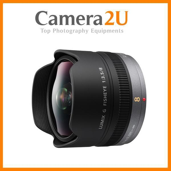 New Panasonic Lumix G Fisheye 8mm F3.5 Lens