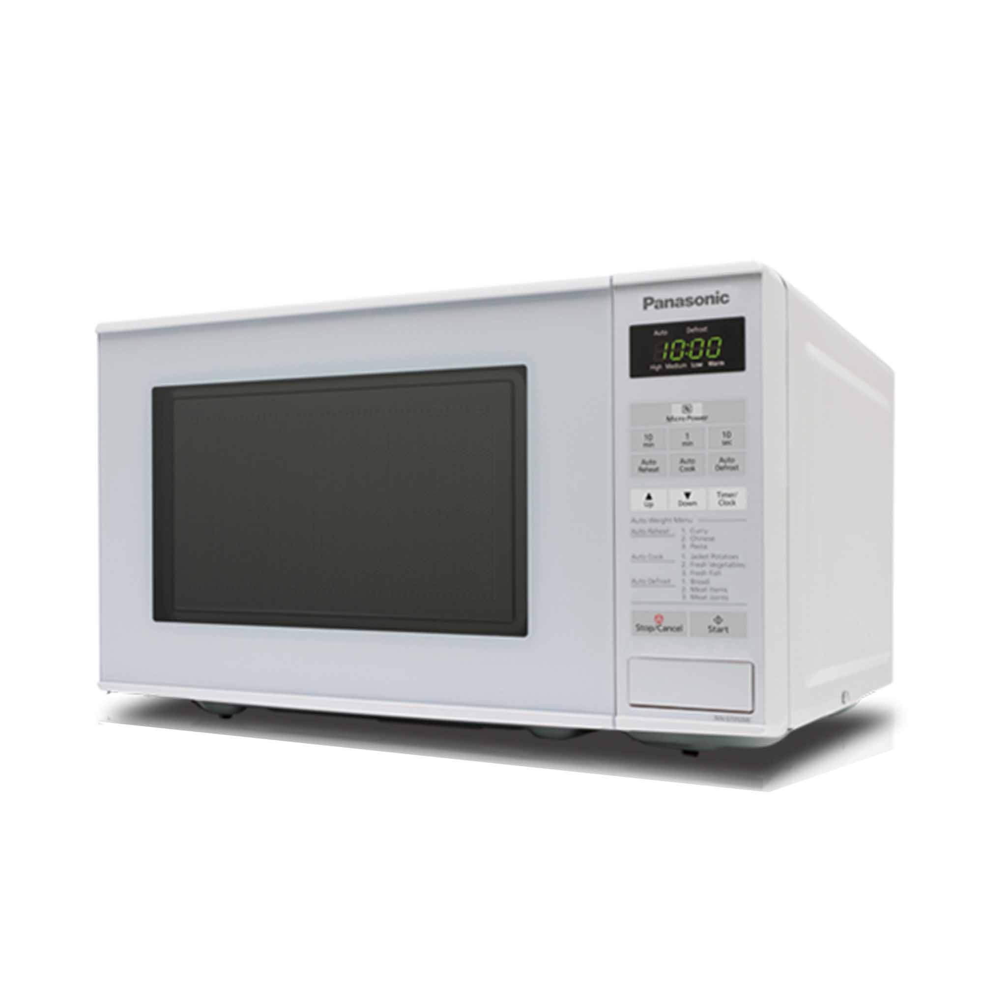 Panasonic Microwave Oven Nn St253w 20l 9 Auto Cooking Menus