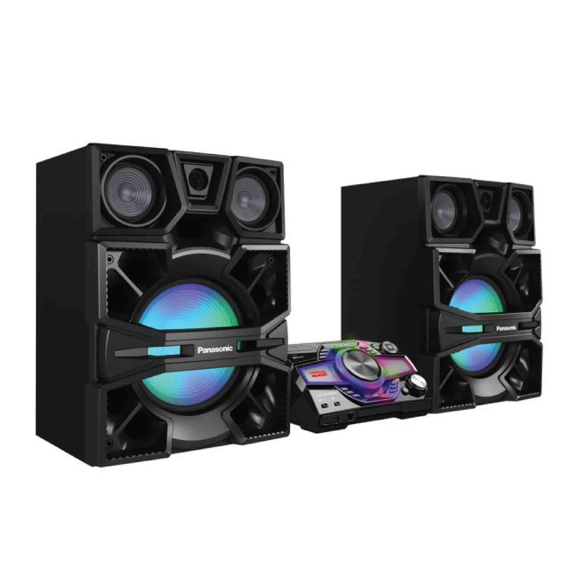 Panasonic Mini Hifi Sound System Sc End 1 16 2021 1200 Am Hi Fi Pc Speaker Max9000 4000w 38cm Super Woofer
