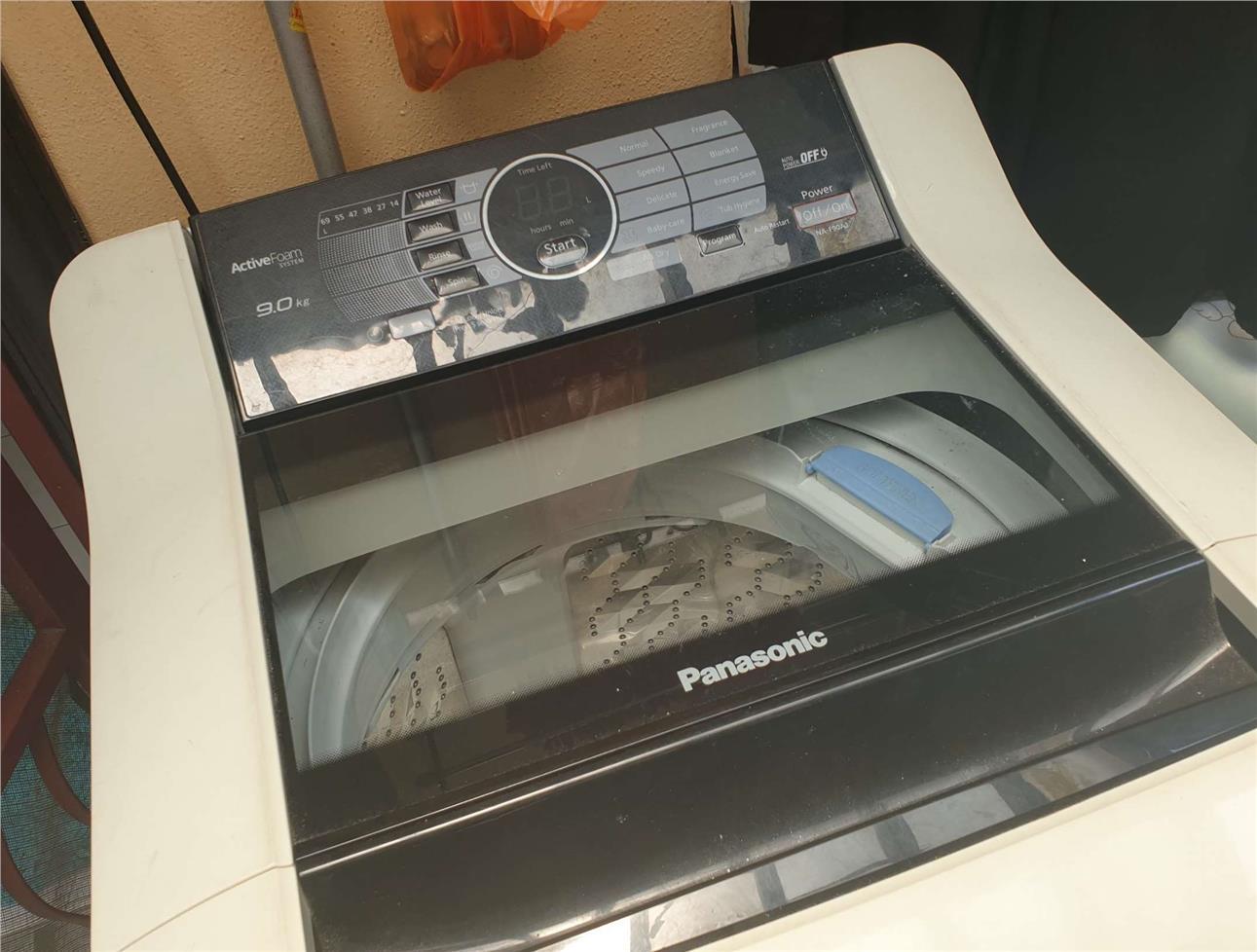 USED PANASONIC NA-F901A1 washing m (end 11/5/2019 3:15 PM)