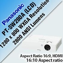 PANASONIC PT-SW280A (LCD) INSTALLATION PROJECTOR