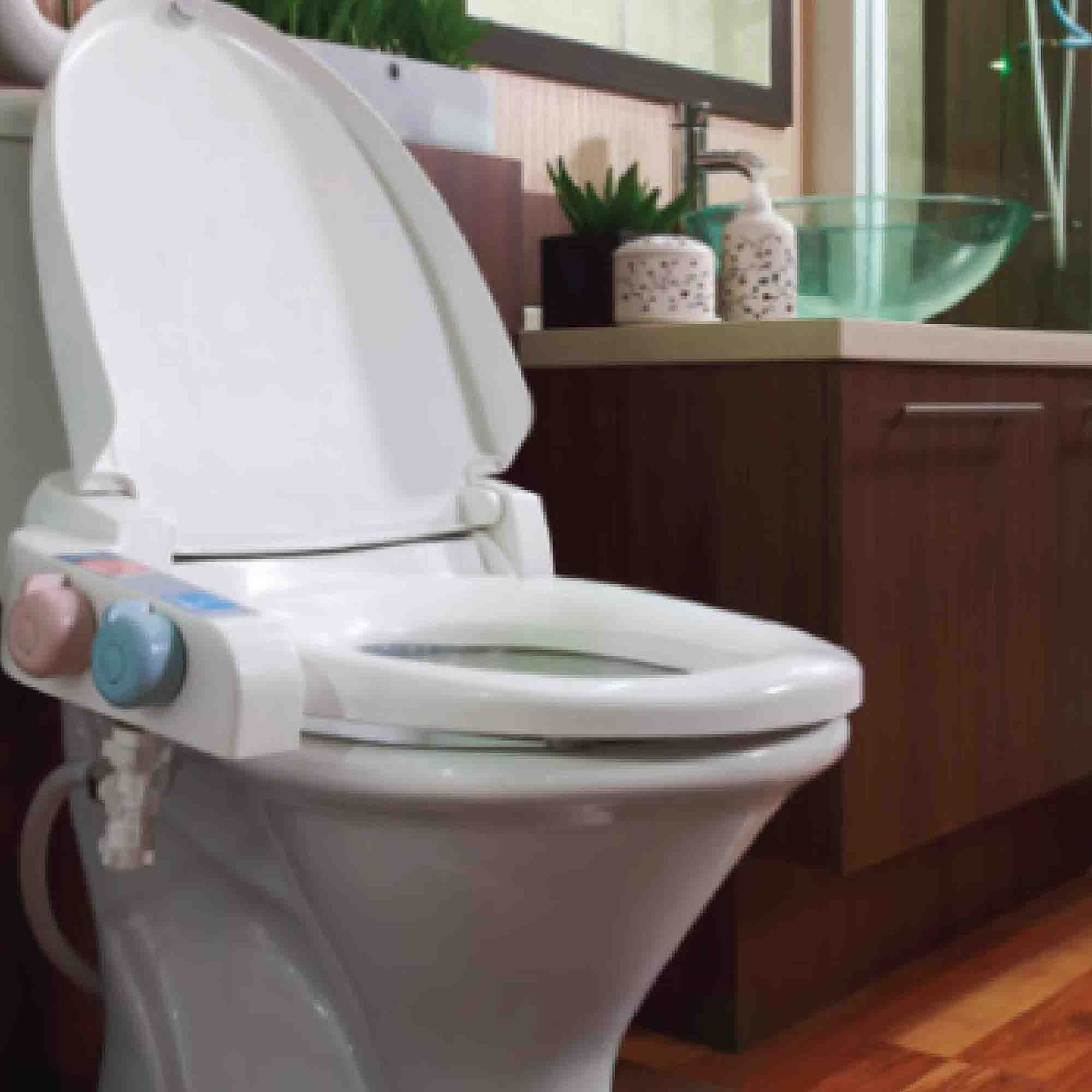 mechanical spray l fresh attachment greenco bathroom bidet seat home kitchen dp toilet water com non electric amazon