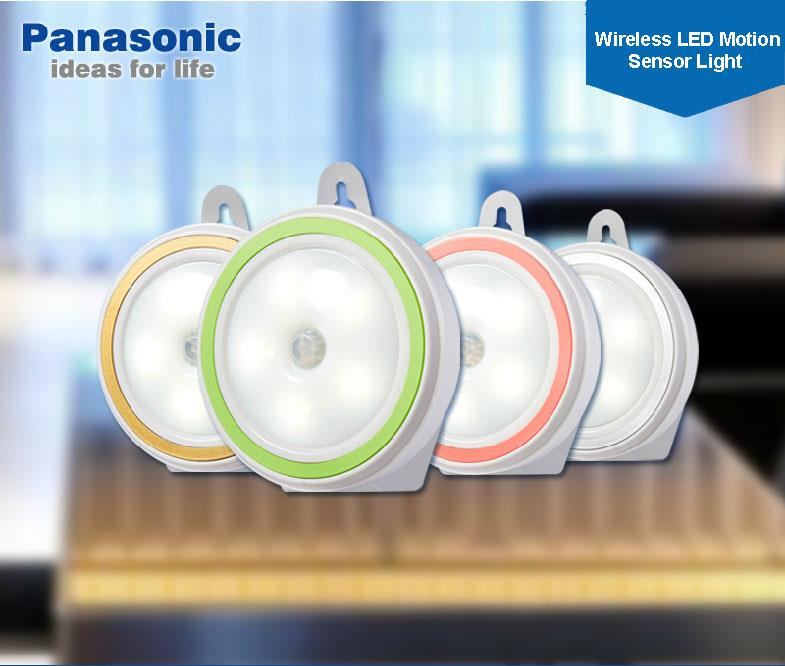 panasonic wireless motion sensor led light