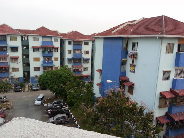 Pangsapuri Putra Indah Apartment for sale, Ground Floor,Seri Kembangan