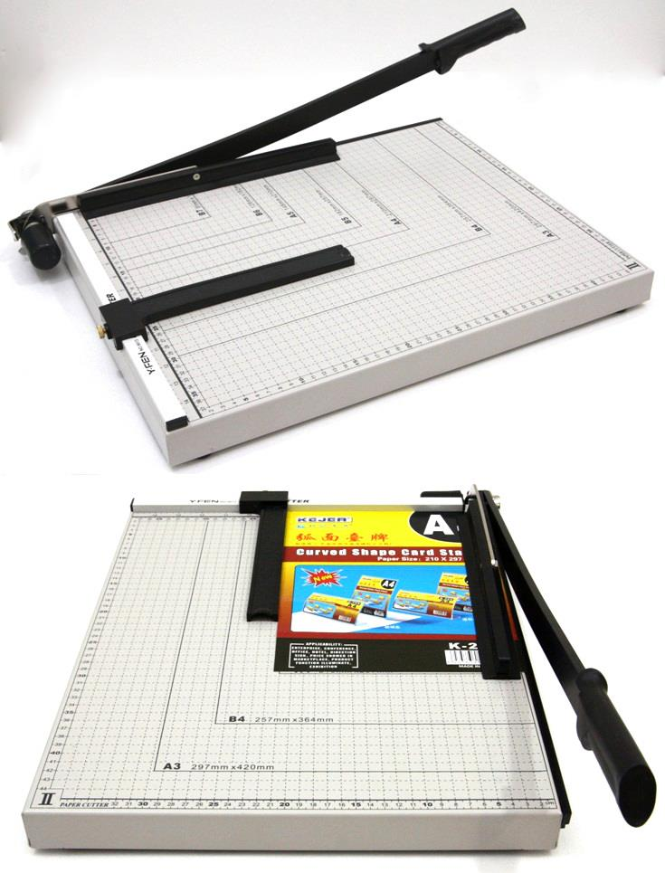 "Paper Cutter 18""x15"" Cutting Machine Metal Base B3 Size"