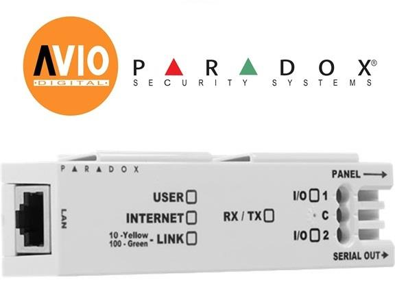 Paradox IP150S Alarm Internet Module control alarm through IP network