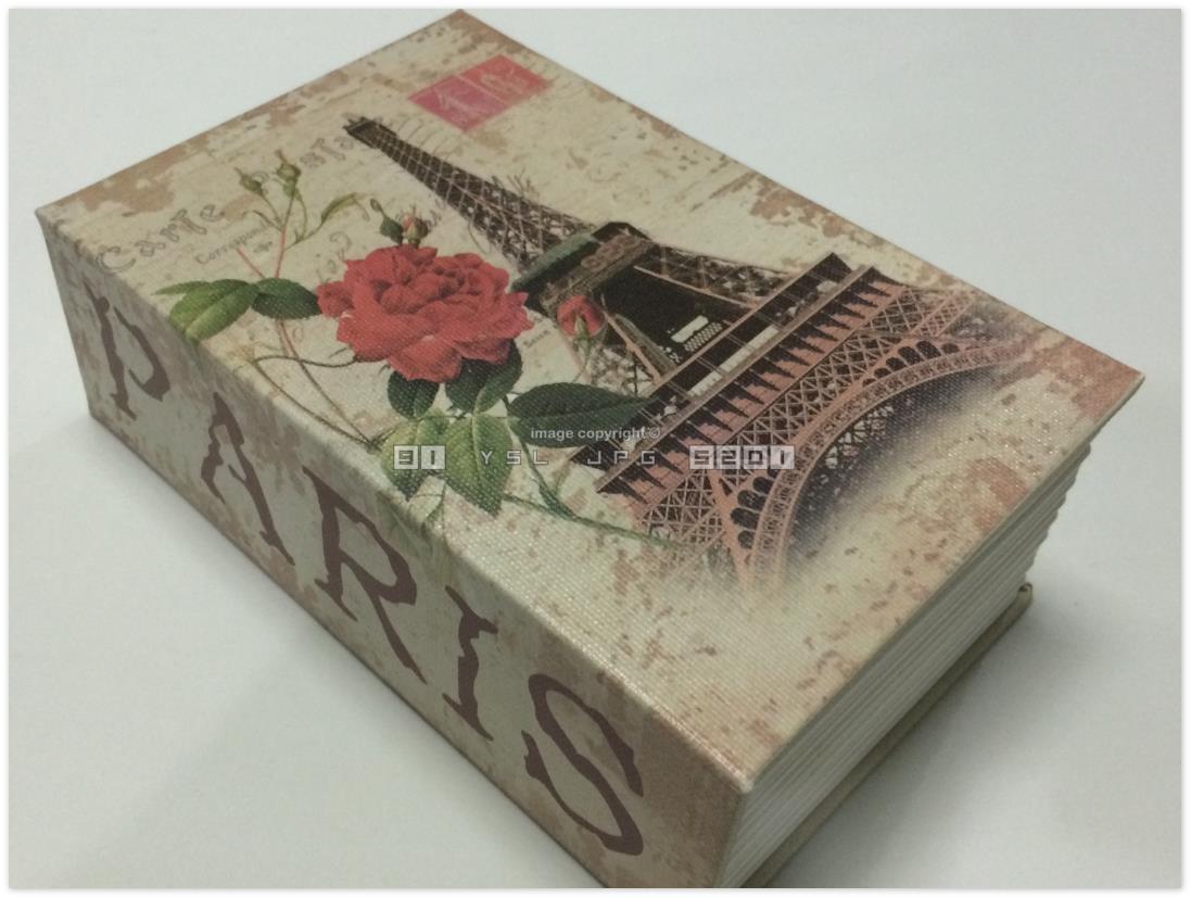 PARIS Dictionary Secret Book Safe Combination Lock Securit