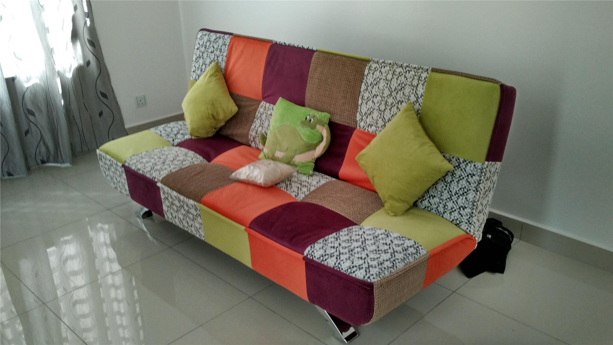 Patchwork sofa penang end time 7 18 2017 6 15 pm for Sofa patchwork