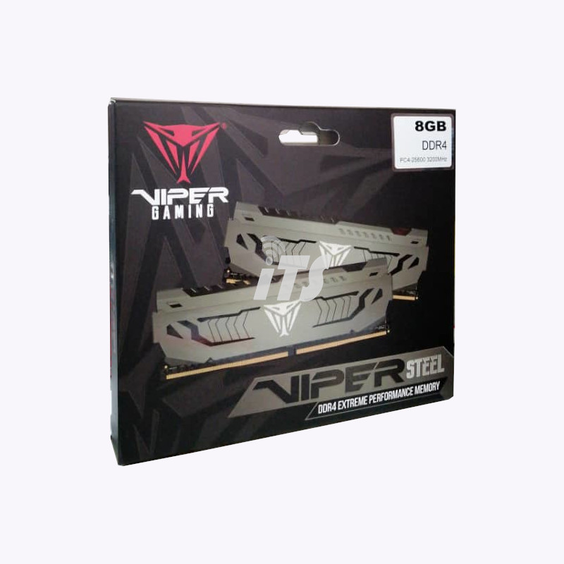 Patriot VIPER Steel 8GB DDR4 3200Mhz CL16 (PVS48G320C6)