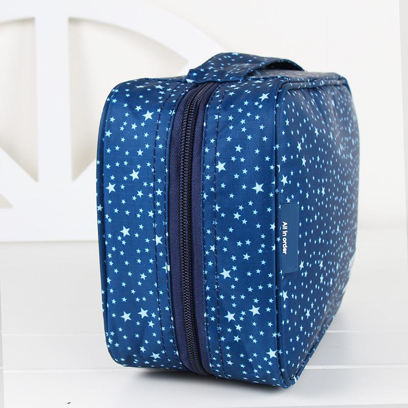 Pattern Travel Hanging Toiletry Pouch Bag