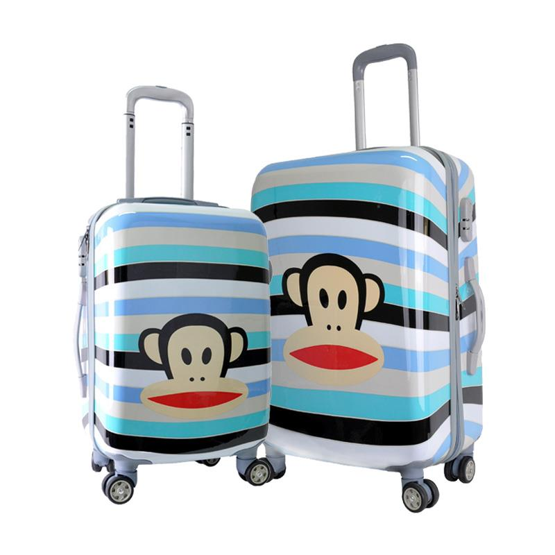 PAUL FRANK Julius Lightweight ABS+PC Travel Luggage Set - 20' 24' inch