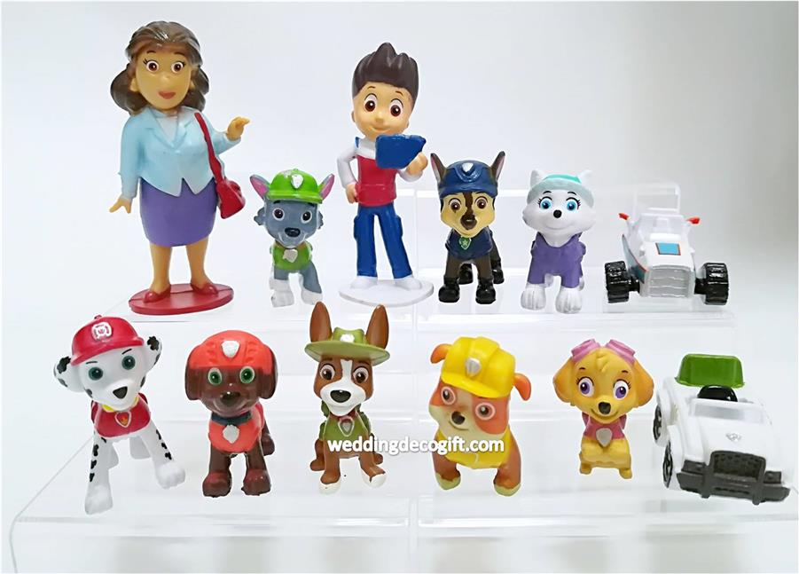 Kids Toys Action Figure: PAW Patrol Toy Cake Topper Figures (end 6/13/2019 11:15 PM