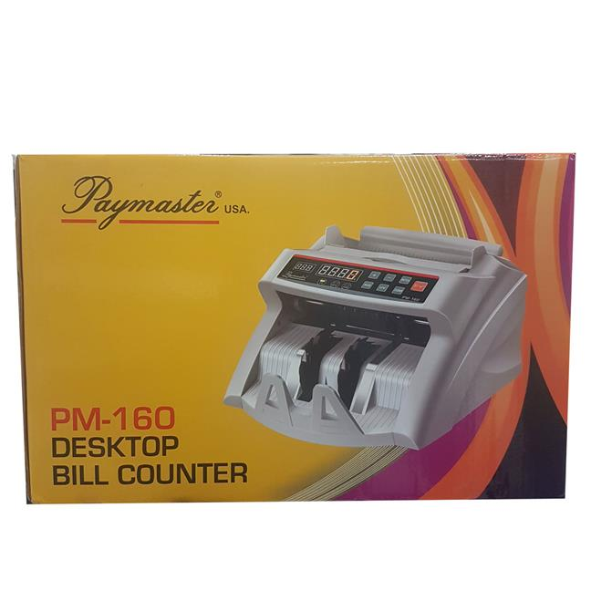 PAYMASTER DESKTOP BILL COUNTER PM-160