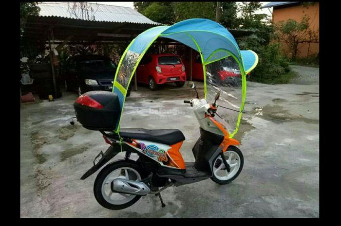PAYUNG MOTOSIKAL | MOTORCYCLE CANOPY & PAYUNG MOTOSIKAL | MOTORCYCLE CANOP (end 12/23/2018 2:15 PM)