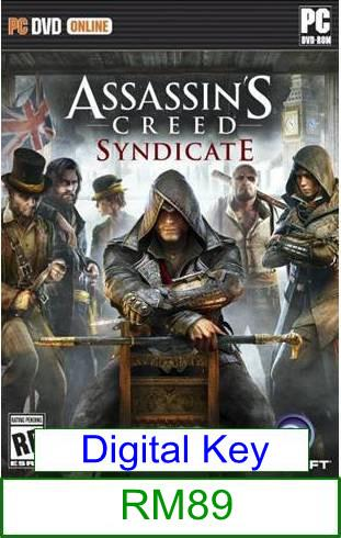 PC Assassin's Creed Syndicate ★Brand New & Sealed★