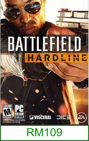 PC Battlefield Hardline ★Brand New & Sealed★