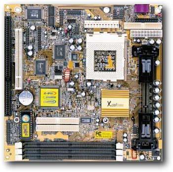 PC-Chips M748LMRT Motherboard Socket 370 System Board