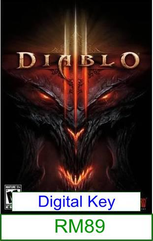 PC Diablo 3 ★Brand New★