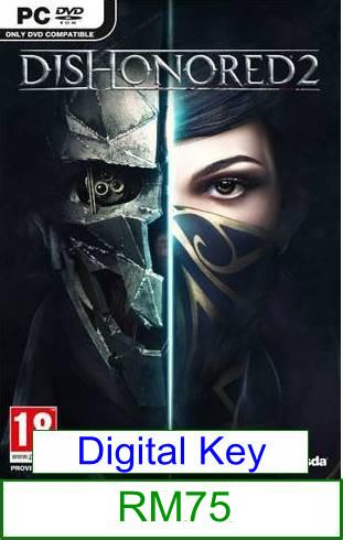 PC Dishonored 2 ★Brand New★