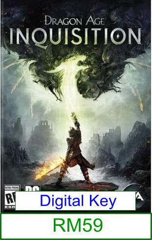 PC Dragon Age 3 Inquisition ★Brand New & Sealed★