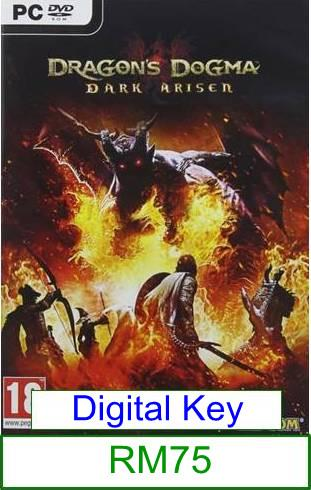 PC Dragon Dogma Dark Arisen ★Brand New & Sealed★