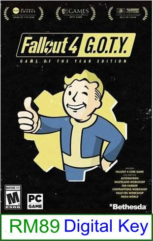PC Fallout 4 (GOTY) ★Brand New★