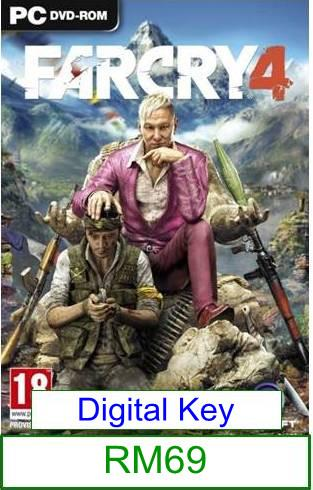 PC FarCry 4 ★Brand New & Sealed★