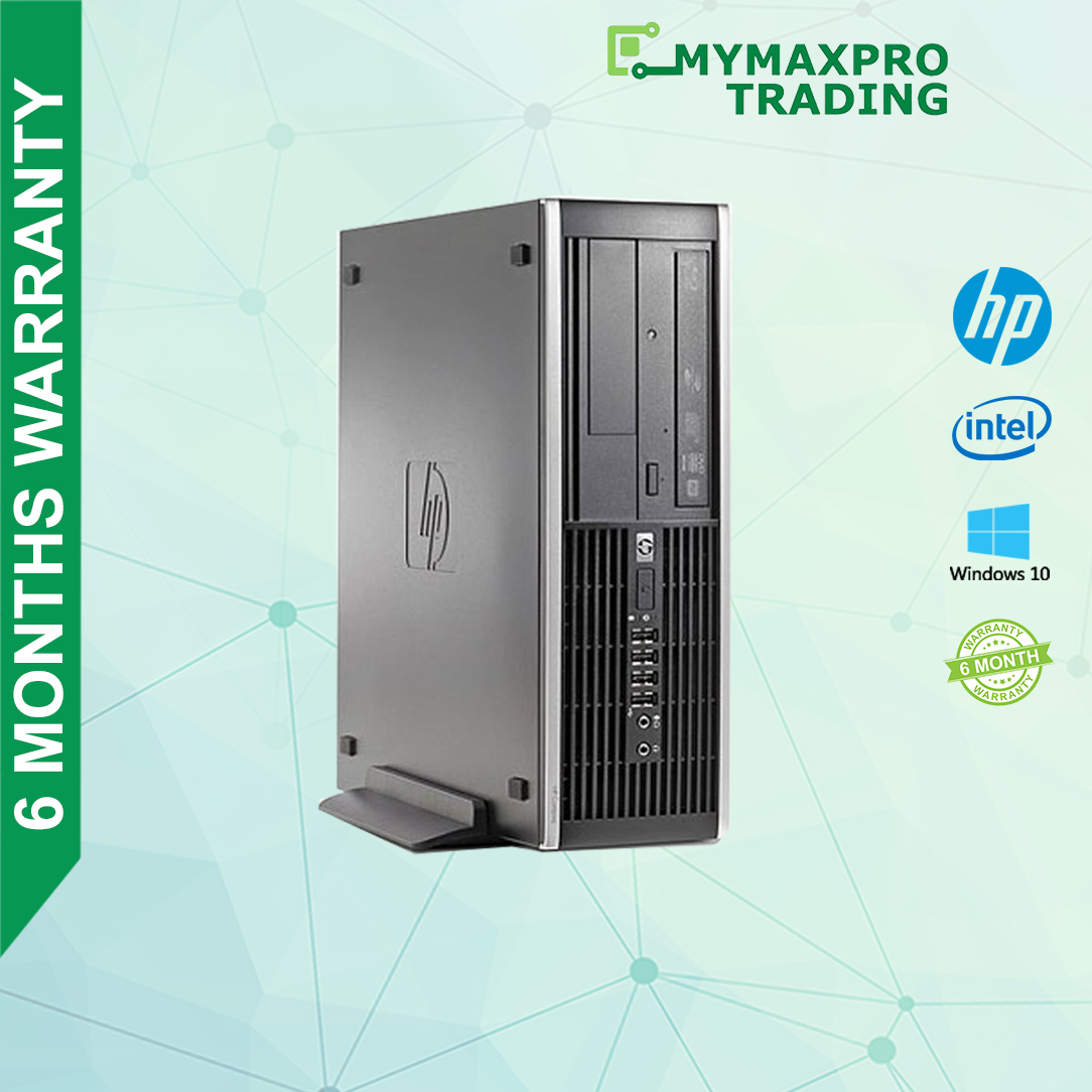 PC i3/i5/i7 HP Compaq 8100 1st Gen 4GB or 8GB RAM HDD or SSD Win10