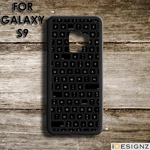 PC Keyboard Keypad Print Case Cover for Galaxy S9 S9+ S8 S7 NOTE 9 8 7