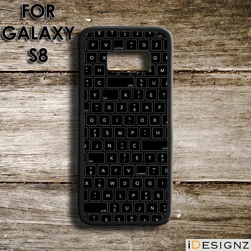 online retailer 082f3 0e3e8 PC Keyboard Keypad Print Case Cover for Galaxy S9 S9+ S8 S7 NOTE 9 8 7