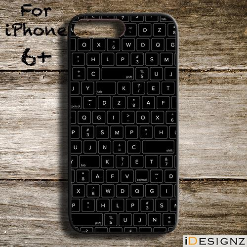 sneakers for cheap e536e c1e20 PC Keyboard Keypad Print Case Cover for iPhone X 8 8+ 7 7+ 6 6+ 5S 5